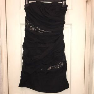 Express lace mini dress
